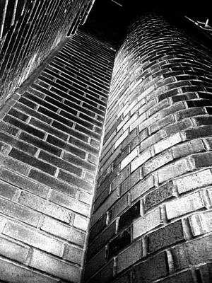 Another Brick In The Wall Print by Barbara Drake