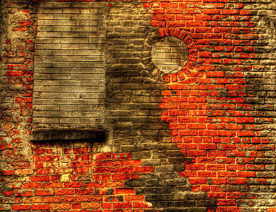 Another Brick In The Wall Print by Thomas Young