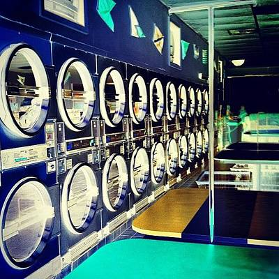 Dungeon Photograph - Another Chance To Make A Laundromat by Michelle Huey