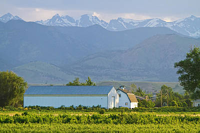 Another Colorado Country Landscape Print by James BO  Insogna