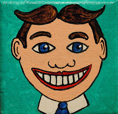 Asbury Park Painting - Another Happy Face by Patricia Arroyo