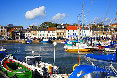 Anstruther Photograph - Anstruther Harbour by Craig B