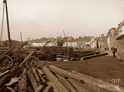 Anstruther Photograph - Anstruther Scotland by The Keasbury-Gordon Photograph Archive