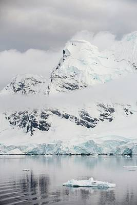 Antarctic Coast Print by Ashley Cooper