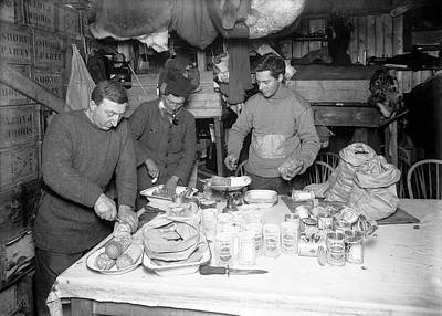 Rations Photograph - Antarctic Pemmican Rations by Scott Polar Research Institute