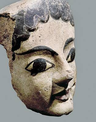 Ceramics Photograph - Antefix With A Female Head. 6th C. Bc by Everett