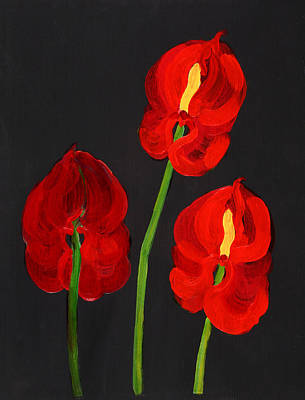 Anthurium Painting - Anthurium by Deborah Barton