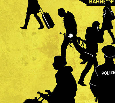 Anti-terrorism Police Print by Smetek