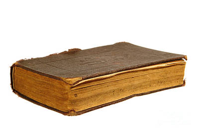 Antique Book Print by Olivier Le Queinec