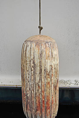 Bouys Photograph - Antique Bouy by Jani Freimann