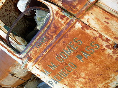 Antique Chevrolet Farm Truck Print by Jeff Lowe