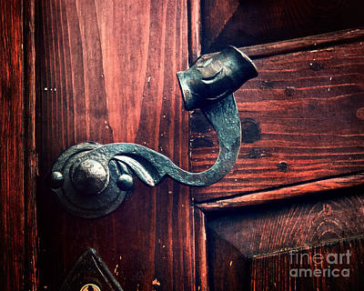 Antique Door Knob Print by Ivy Ho