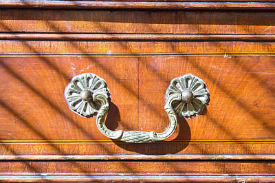 Woodcarving Photograph - Antique Furniture by Tom Gowanlock