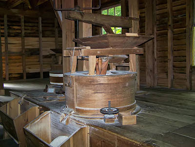 Grist Mill Digital Art - antique Grist Mill  by Chris Flees