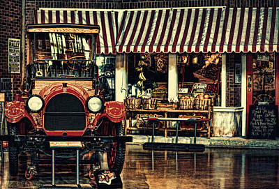 Old Trucks Digital Art - Antique Grocery Store  by Maria Angelica Maira
