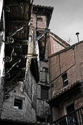 Teruel Photograph - Antique Ironwork Wood And Rustic Walls by RicardMN Photography