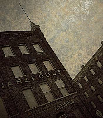 Manipulation Photograph - Antiques Warehouse  by Chris Berry
