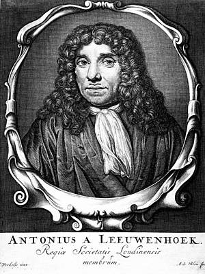 Anton Von Leeuwenhoek Print by Universal History Archive/uig