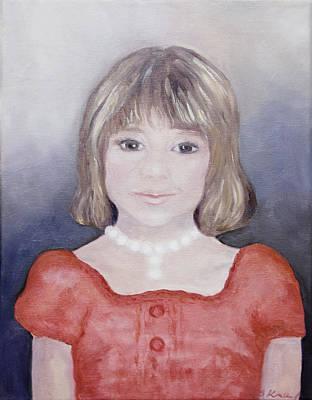 Antonia Portrait Print by Barbara Anna Knauf