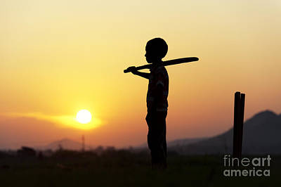 Cricket Photograph - Any One For Cricket by Tim Gainey