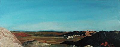 Anza - Borrego Desert Print by Joseph Demaree