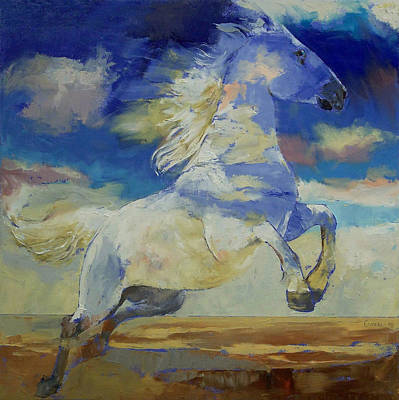 Realist Painting - Apache Dreaming by Michael Creese
