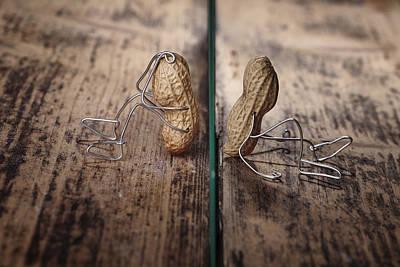 Peanut Photograph - Apart by Nailia Schwarz