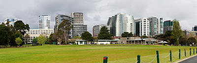 Apartment Buildings Along Queens Road Print by Panoramic Images