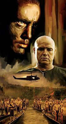 Marlon Painting - Apocalypse Now Artwork by Sheraz A