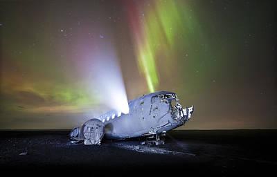 Apocalyptic Aurora Print by Timm Chapman