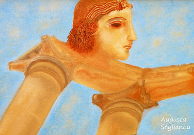 Olympian Photograph - Apollo Hylates by Augusta Stylianou