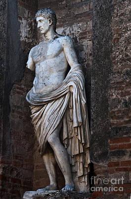 Roman Ruins Photograph - Apollo by Marion Galt