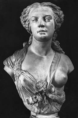Apollonie Sabatier Print by Jean Baptiste Auguste Clesinger