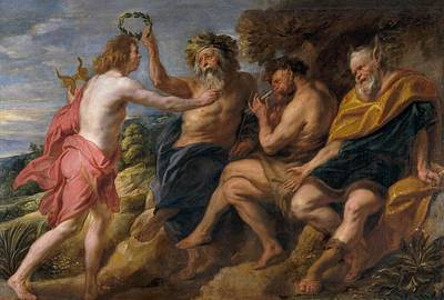 Masters Winners Painting - Apolo The Winner by Jacob Jordaens