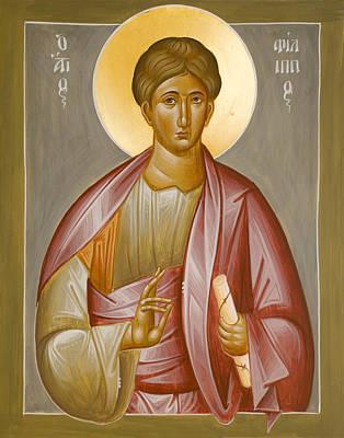 Painting - Apostle Philip by Julia Bridget Hayes