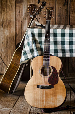 Guitar Photograph - Appalachian Music by Heather Applegate
