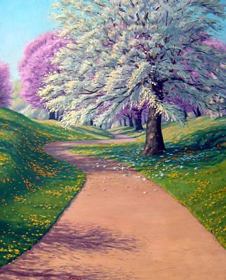 Apple Blossom Trail Original by Rick Hansen