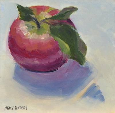 Painting - Apple by Mary Byrom
