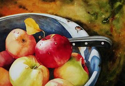 Apples Original by Sarah Luginbill
