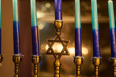 Hanukah Photograph - Appointed Lights by Tikvah's Hope
