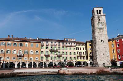 Sergio Photograph - Apponale Tower, Piazza 3 Novembre, Riva by Sergio Pitamitz