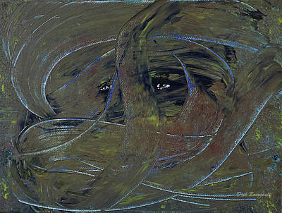 Apprehension Painting - Apprehension by Dick Bourgault
