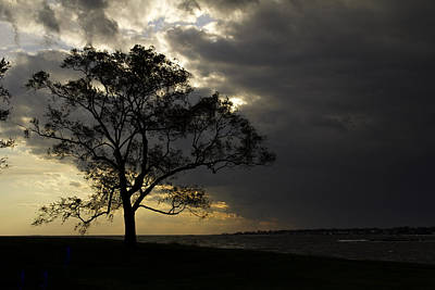 Uconn Photograph - Approaching Storm by David Freuthal
