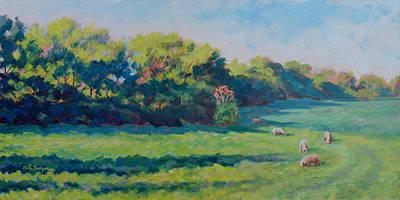 April Morning Original by Keith Burgess