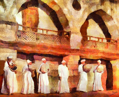 Dream Painting - Arabian Musicians by George Rossidis