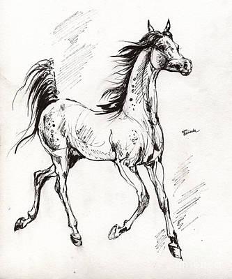 Arabian Yearling Print by Angel  Tarantella
