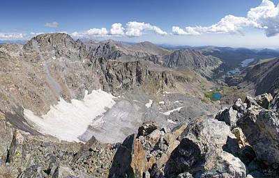 Arapaho Glacier Print by Aaron Spong