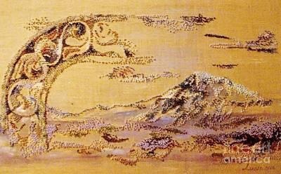 Needlework For Sell Painting - Ararat by Armen Abel Babayan