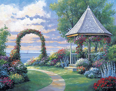 Oceanscape Painting - Arbor Light by John Zaccheo