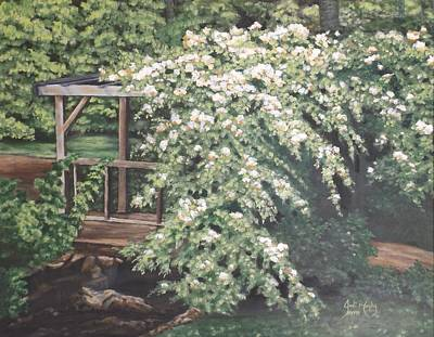 Pigeon Forge Painting - Arbor Passage by Jodi Murphy